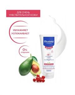 Bebe Молочко для тела увлажняющее успокаивающее Sensitive Skin 200 мл Mustela