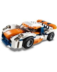 Конструктор Creator 31088 Оранжевый гоночный автомобиль Lego