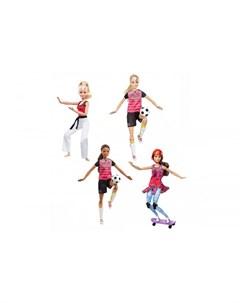 Кукла спортсменка Безграничные движения Barbie