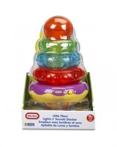 Развивающая игрушка Пирамидка со звуковыми и световыми эффектами 2 Little tikes
