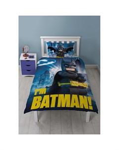 Постельное белье Постельное белье Batman Movie 1 5 спальное Lego