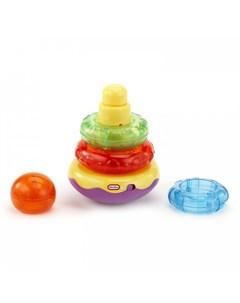 Развивающая игрушка Пирамидка со звуковыми и световыми эффектами 1 Little tikes