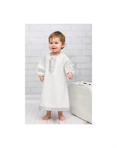 Крестильная рубашка Русская традиция 18 012 Alivia kids