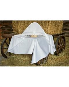 Крестильная пеленка Воздушное шитье 90х90 12 805 10 Alivia kids