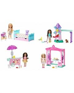 Кукла Челси с набором мебели Barbie