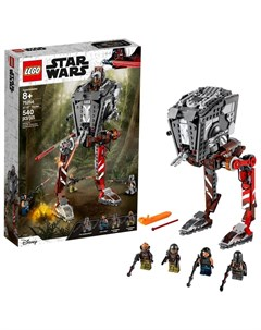 Конструктор Star Wars 75254 Звездные Войны Диверсионный AT ST Lego
