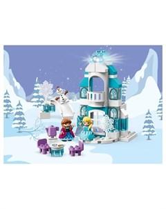 Конструктор Duplo 10899 Дисней Ледяной замок Lego
