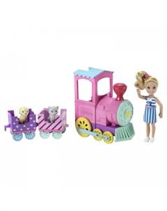 Игровой набор Паровозик Челси Barbie