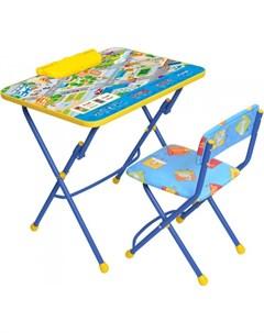 Набор мебели стол парта мягкий стул Nika