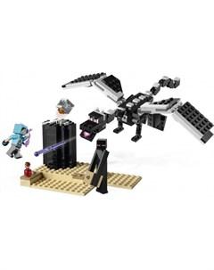 Конструктор Minecraft 21151 Последняя битва Lego
