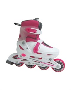 Детские ролики раздвижные AJIS 12 05 Neon hard boot Atemi