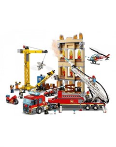 Конструктор City 60216 Fire Центральная пожарная станция Lego