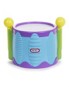 Музыкальный инструмент Игрушка Барабан с палочками Little tikes