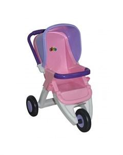 Коляска для куклы Arina 3 х колёсная Coloma