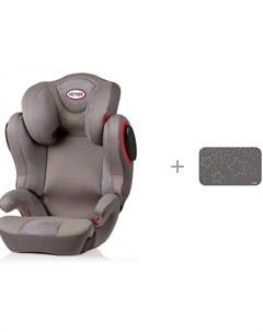 Автокресло Traver Shield и защитный чехол под детское сиденье АвтоБра Joie