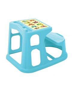 Стол парта детская с аппликацией 730х550х500 мм Пластишка