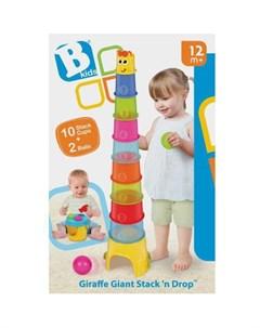 Развивающая игрушка Пирамида с шарами B kids