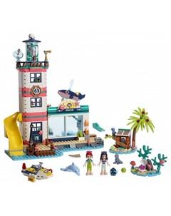 Конструктор Friends Спасательный центр на маяке Lego