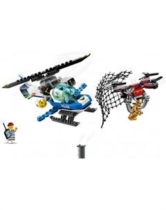 Конструктор City 60207 Police Воздушная полиция погоня дронов Lego