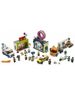 Конструктор City Town Открытие магазина по продаже пончиков Lego