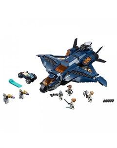 Конструктор Super Heroes 76126 Лего Супер Герои Модернизированный квинджет Мстителей Lego