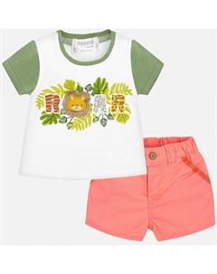 Комплект одежды для мальчика бриджи и фуфайка 1219 Mayoral