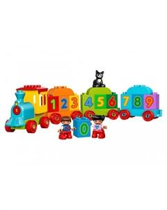 Конструктор Duplo Поезд Считай и играй Lego