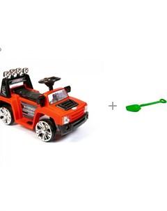 Электромобиль ZPV 005 и Лопата детская Альтернатива Barty