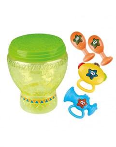 Музыкальный инструмент Набор игрушек в барабане Playgo