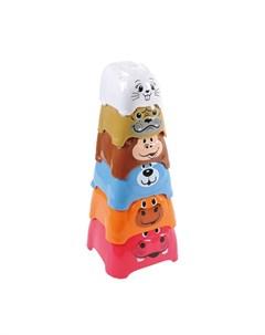Развивающая игрушка Активный игровой центр Пирамида c животными Playgo