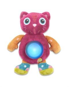 Мягкая игрушка ночник Кошка Oops