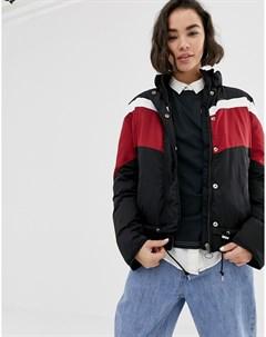 Ветровка в спортивном стиле с полосками Lee Черный Lee jeans