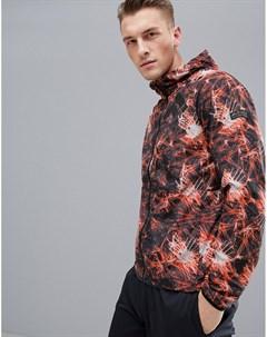 Куртка для бега с принтом FIRST Оранжевый First