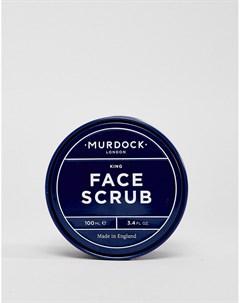 Отшелушивающий скраб для лица объемом 100 мл Бесцветный Murdock london