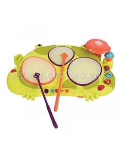 Музыкальный инструмент Мульти барабан Лягушка Battat