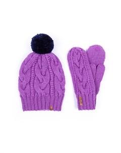 Комплект шапка варежки Sava mari