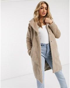 Плюшевое пальто Ax paris