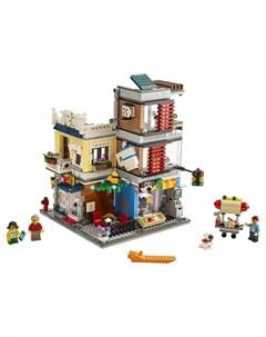 Конструктор Creator Зоомагазин и кафе в центре города Lego