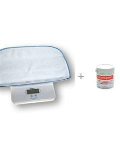 Детские весы 6420 с гипоаллергенным кремом Судокрем 125 г Momert