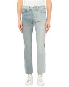 Джинсовые брюки Vetements x levi's