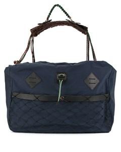 Объемная сумка мессенджер Kolor