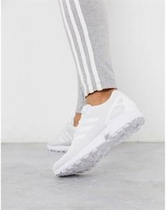 Белые кроссовки ZX Flux Белый Adidas originals