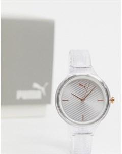 Наручные часы с круглым циферблатом P1016 Очистить Puma