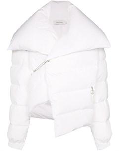 MarquesAlmeida куртка пуховик асимметричного кроя Marques'almeida