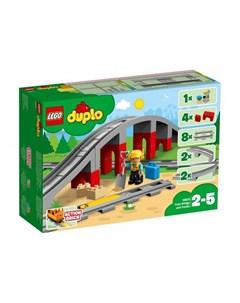 Конструктор Duplo Железнодорожный мост Lego
