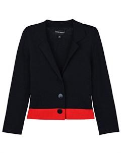 Пиджак с красной полоской детский Emporio armani