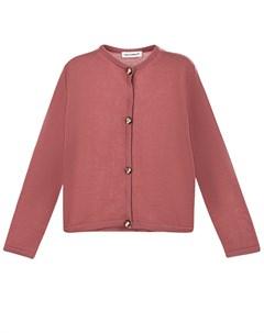 Розовая кофта из шерсти детская Dolce&gabbana