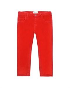 Красные брюки зауженного кроя Gucci