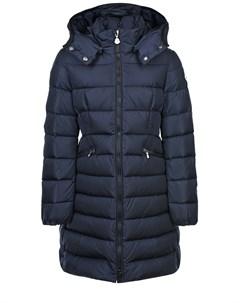 Приталенное пуховое пальто детское Moncler