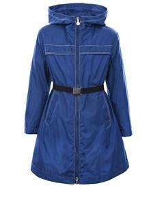 Пальто приталенного кроя с капюшоном Moncler